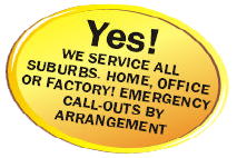 JFS Service all Suburbs Home, Office or Factory